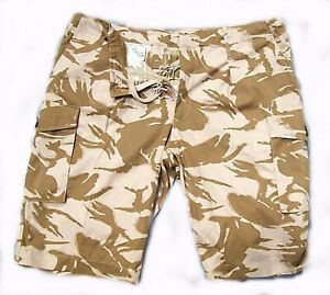 BRITISH ARMY - Genuine DPM Desert Combat Shorts Trousers Surplus Issue
