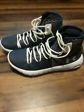 Mens Underarmour Basketball Shoes Size 10 Black