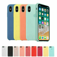 Genuine OEM Original Silicone Case Cover for Apple iPhone X XS Max XR 6 7 8 Plus