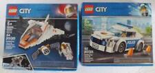 LEGO City SATELLITE Service Mission Astronaut # 60224 & Police Patrol Car 60239