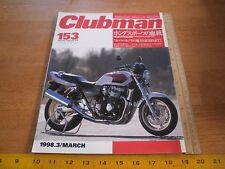 Clubman 153 Japan magazine Harley-Davidson motorcycle vintage bikes
