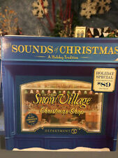 """Snow Village  The Sounds of Christmas   """"Jolly's Christmas Trim""""    NEW!"""