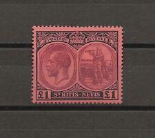 More details for st kitts 1920/2 sg 36 mint cat £300