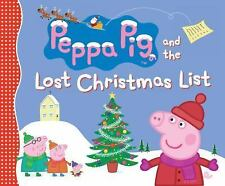 Peppa Pig: Peppa Pig and the Lost Christmas List by Candlewick Press Staff...