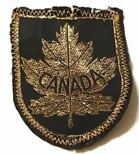 CANADA Skiing Ski Patch British Columbia Banff Alberta Resort Travel Maple Leaf