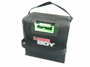 Golf Battery Bag / Cover for Powercaddy - Heavy Duty Carry Bag - 24ah to 28ah.