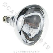 LA23 300W 240V GANTRY HEAT LAMP / BULB E27 SCREW FIT REFLECTOR TYPE SPOT LIGHT