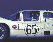 Vintage 8 X 10 1966 Daytona 24 Hours Chaparral 2D Jo Bonnier Auto Racing Photo