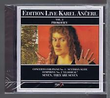 KAREL ANCERL CD (NEW) PROKOVIEV VOL 3 CONCERTO FOR PIANO 1