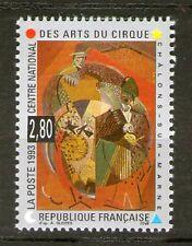 TIMBRE 2833 NEUF XX LUXE -  CENTRE NATIONAL DES ARTS DU CIRQUE CHALONS SUR MARNE
