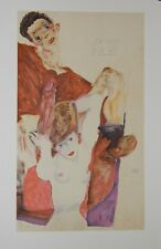 Egon SCHIELE - Estampe - Lithographie - The Rest Host, 1911