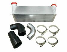 """7"""" FMIC Intercooler + TBolts & Silicon Couplers 2007-13 335i E82 E90 E91 E92 E93"""