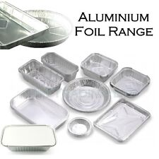 Aluminium Foil Range Containers Catering Baking Food Barbecue Tin Party Takeaway