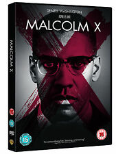 MALCOLM X - DENZEL WASHINGTON - NEW / SEALED DVD - UK STOCK