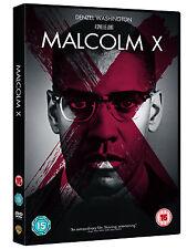 MALCOLM X - DENZEL WASHINGTON - NEW / SEALED DVD - UK STOCK