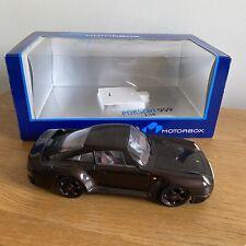 1:18 Scale EXOTO Motorbox Porsche 959. Very Rare Dark Brown. Boxed & VGC