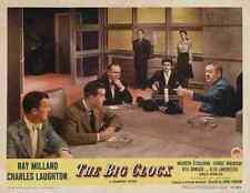 Reloj grande la película de 07 A3 cartel impresión
