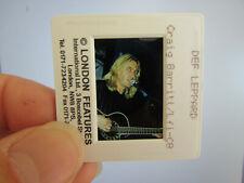 More details for original press photo slide negative - def leppard - steve clark ? - 1990's - d