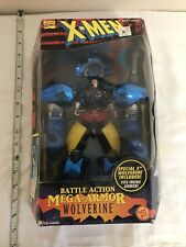 Marvel X-men Battle Action Mega Armour Wolverine Action Figure Boxed Toy Biz
