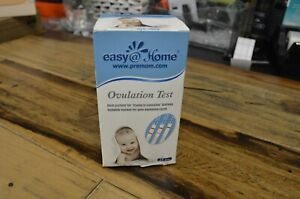 Easy@Home Ovulation Test Strips, 25 Pack Fertility Tests, Ovulation Predictor Ki