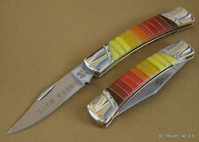 ROUGH RIDER SLOW BURN FOLDING LOCKBACK KNIFE **RAZOR SHARP** BLADE