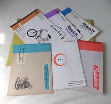 Motobecane Mobylette / CADY Moped Folder with Set of 5 Books & Tech. Description