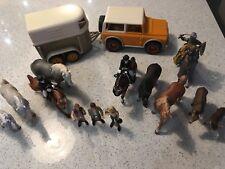 SCHLEICH HORSES , Vehicle/ Trailer BUNDLE - VGC