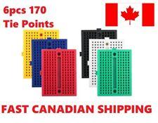 6PCS 170 tie-points Mini Breadboard kit for Arduino PCB DIY. Canadian Stock!!!