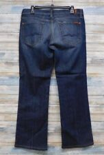 7 For All Mankind Jeans 32 x 30 Women's Boot cut Stretch  (G-69)