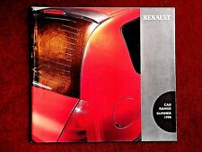 RENAULT CAR RANGE BROCHURE 1998 Includes SPIDER