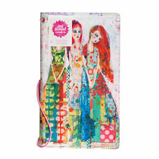Jane Davenport Mixed Media Butterfly Effect Book THREE SISTERS Canvas Journal