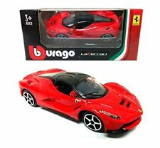 Bburago Play Assortment - Red Ferrari LAFERRARI Race Diecast Model Car 1:64