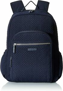 Vera Bradley Iconic Campus Classic Navy Backpack