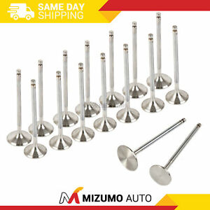 Intake Exhaust Valves Fit 94-01 Acura Integra GS-R Type-R 1.8 B18C1 B18C5