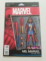 MS. MARVEL #1 (2016) MARVEL COMICS ACTION COMICS VARIANT COVER ART! 1ST PRINT NM