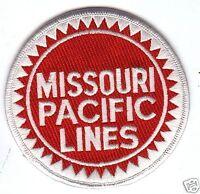 "RAILROAD PATCH - Missouri Pacific Lines 4"""