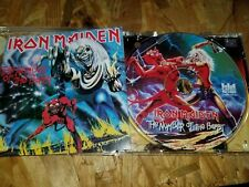 IRON MAIDEN The Number Of The Beast CD RARE Castle Records USA 1995 1-Disc 104-2