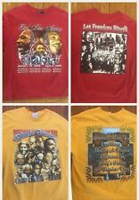 Lot of 2 Size XL Black History T Shirts Let Freedom Ring I Have a Dream MLK (63)