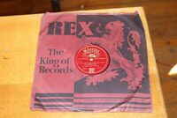 """Billy Elliott Faded Love Letters Of Mine / River stay away 78 10"""" Record 1929"""