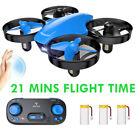 SNAPTAIN SP350 Mini Drone RC Auto Hovering Quadcopter 3 Batteries 3D Flip Gift