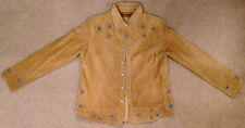Scully Women's Studded Leather Suede Jacket - BRAND NEW