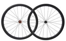 Road Bike Wheels Disc brake Clincher Carbon Wheelset 700C Matt Cycle Race 38mm