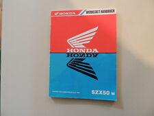- Honda szx 50 a partir de 1998 taller-manual instrucciones de reparación