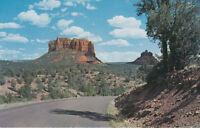 Chrome Postcard A761 Cathedral and Bell Rocks Oak Creek Canyon AZ Sedona Arizona