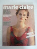 Magazine mode fashion MARIE CLAIRE french #442 juin 1989