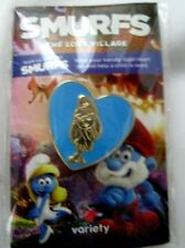 "Smurfette 1 3/4"" Collector's Variety Pin from Smurf Movie Comic Cartoon-New!"