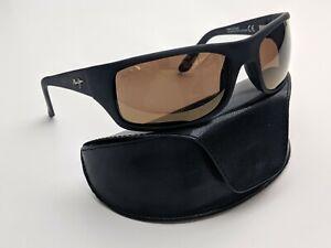 Italy! Maui Jim Peahi MJ202-2M Polarized Men's Sunglasses 65/19 120 / TK238