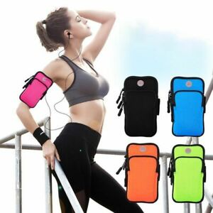 Running Armband Bag Sport Cover Armband Universal Waterproof Portable Sports Bag
