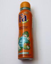 Fa Bali Delight (Kiss) Spray Deodorant Anti-Perspirant 48HR Protection 150ml New