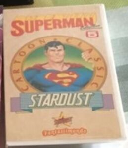 SUPERMAN # RARISSIMA VHS EDIZIONE STARDUST #